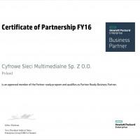 CSMM certyfikowanym partnerem HP